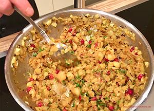 warmer chicoree fenchel salat