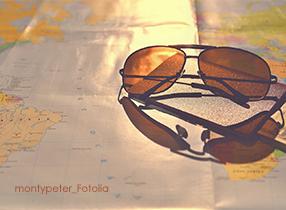 sonnenbrille reiseplanung