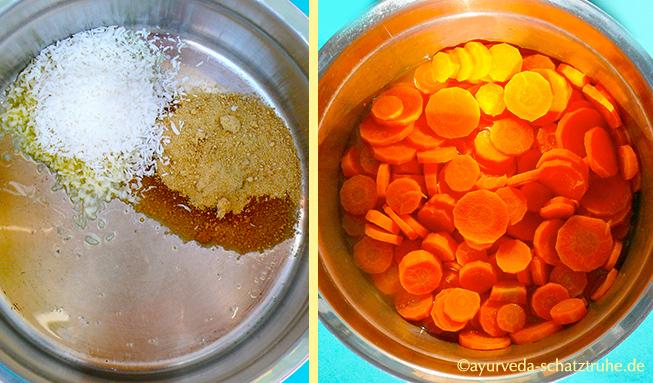 Rezept Ayurveda Karotten Zimt